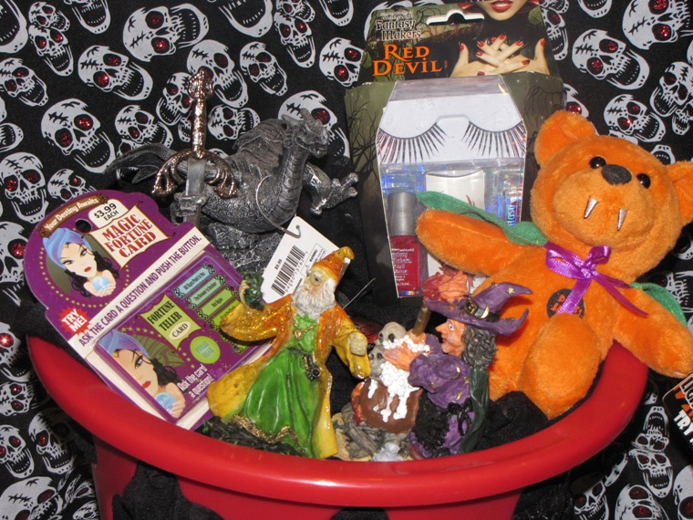 Halloween Dragon Beauty Teen Gothic Gift Basket
