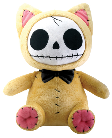 Mao-Mao Kitty Furry Bones Skellies Plush Toy