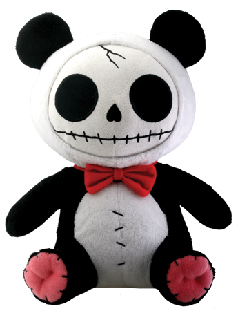 Pandi Panda Plush Furry Bones Skellies Plush Toy