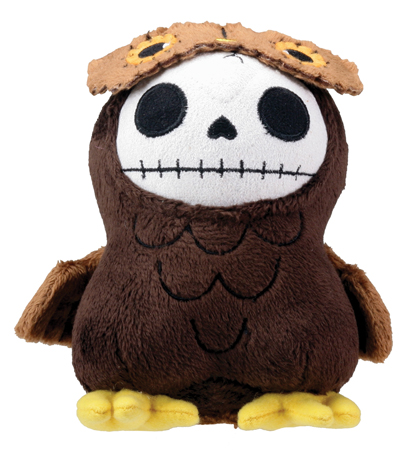 Small Hootie Furry Bones Skellies Plush Toy