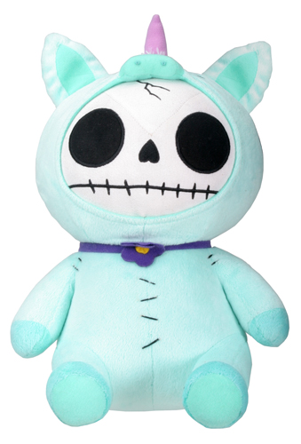 Unie Furry Bones Skellies Plush Toy