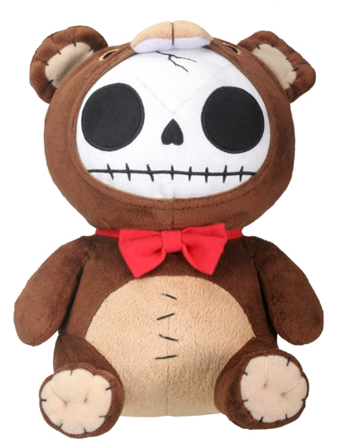 Honeybear Furry Bones Skellies Plush Toy