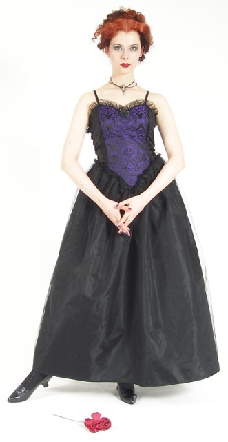 Eternal Love Violet Sacred Heart Party Dress - Click Image to Close