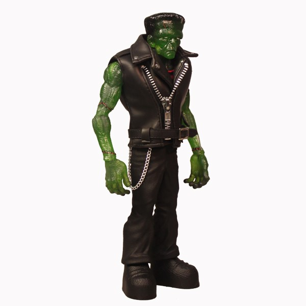 Universal Monsters Clear Green Rebel Frankenstein 9 Inch