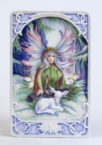 "Jody Bergsma ""Winter Magic"" Jewelry / Trinket Box"