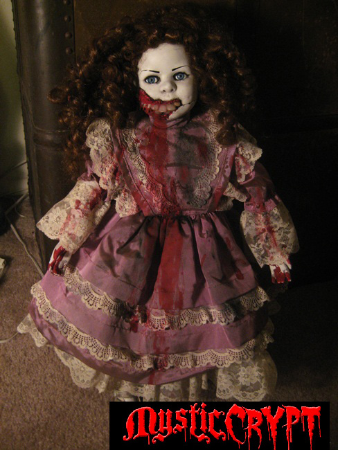 Creepy Large Vampire w Big Teeth Horror Doll by Bastet2329