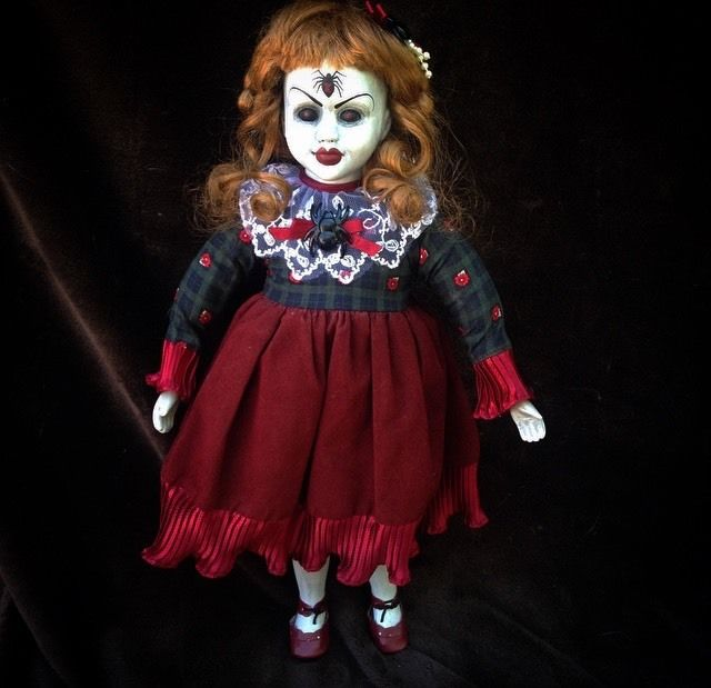Black Widow Spider Creepy Horror Doll by Bastet2329