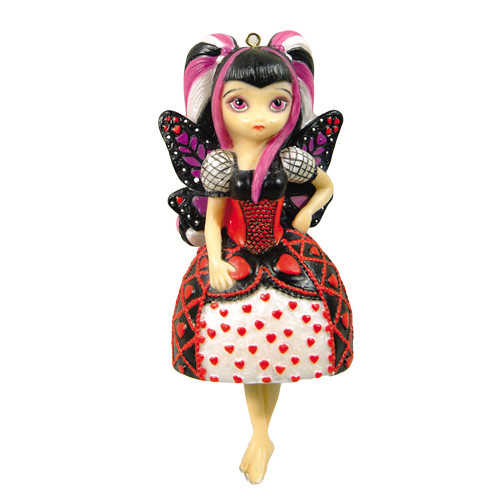 Jasmine Becket Griffith Where is my Valentine Fairy Ornament
