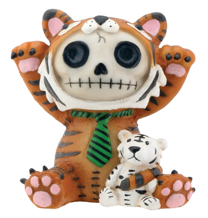 Tigrrr Tiger Furry Bones Skellies Figurine