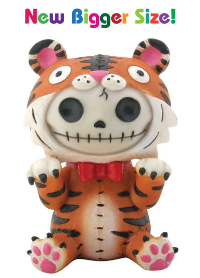 Tigrrr Tiger Furry Bones Skellies Medium Figurine