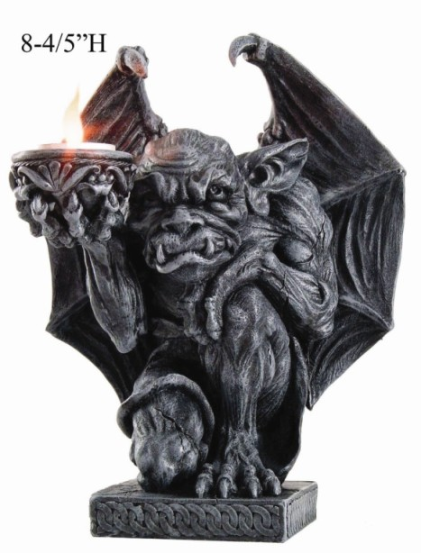 Gargoyle Kneeling Candle Holder