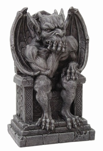 Gargoyle on Throne Statue