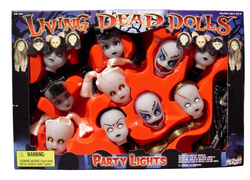 Living Dead Doll Party Lights