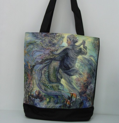 Love of Mermaid Hand Bag Tote
