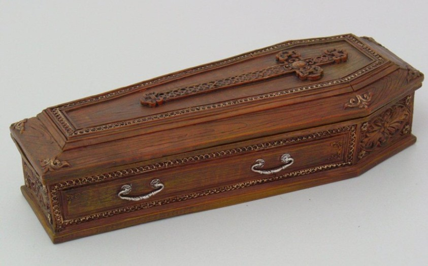 Vampire's Coffin Cross Box
