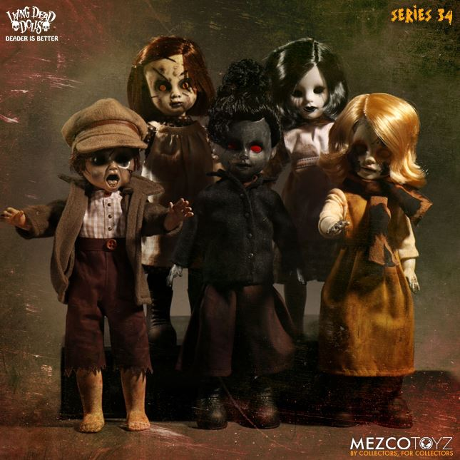 Living Dead Dolls Series 34 Devil's Vein