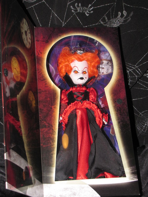 Living Dead Dolls in Wonderland Inferno as The Queen of Hearts