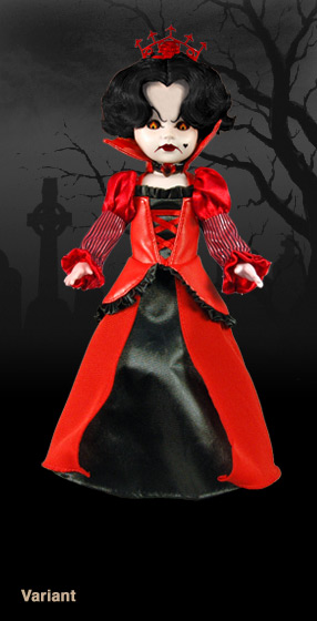Living Dead Dolls in Wonderland VARIANT Inferno as The Queen of Hearts VARIANT
