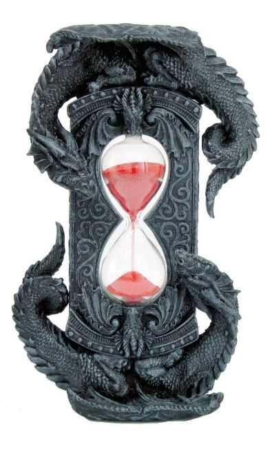 Double Dragon Red Sand Timer