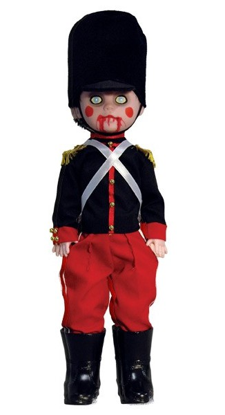 Living Dead Dolls Holiday Toy Soldier - Click Image to Close