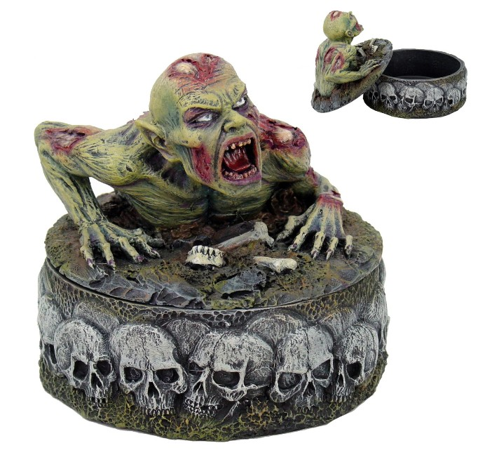 Zombie Jewelry Trinket Box