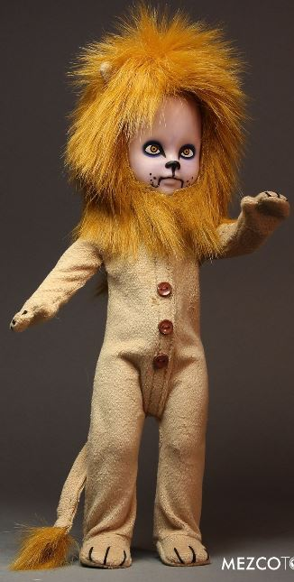 Living Dead Dolls Lost in Oz Wizard of Oz Presents Teddy as The Lion