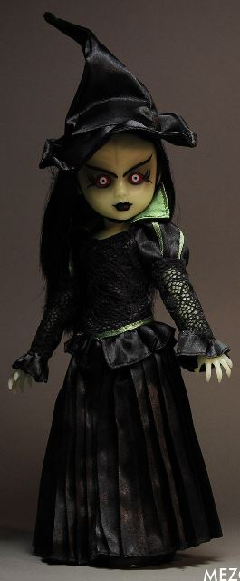 Living Dead Dolls Lost in Oz Wizard of Oz Presents Walpurgis as The Witch