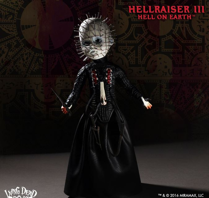 Living Dead Dolls Presents Hellraiser 3 Hell on Earth Pinhead - Click Image to Close