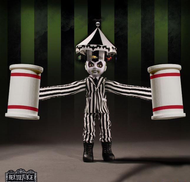 Mezco Presents Showtime Beetlejuice - Click Image to Close