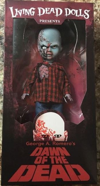 Living Dead Dolls Presents Dawn of the Dead Plaid Shirt Zombie