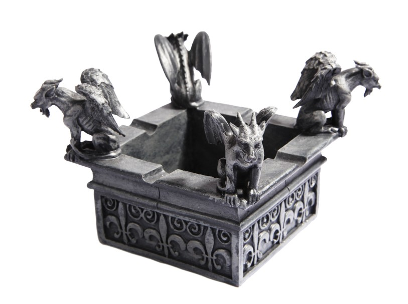 Perched Gargoyle Ashtray