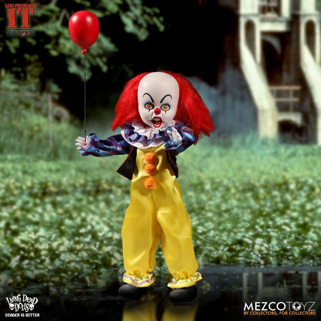 Living Dead Dolls Presents IT Pennywise 1990 Clown