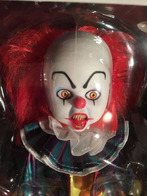 Living Dead Dolls Presents IT Pennywise 1990 Clown - Click Image to Close