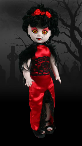 Living Dead Dolls Series 5 Jezebel Directors Cut RARE