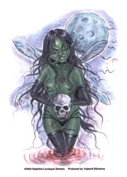 Zombie Fairy sticker