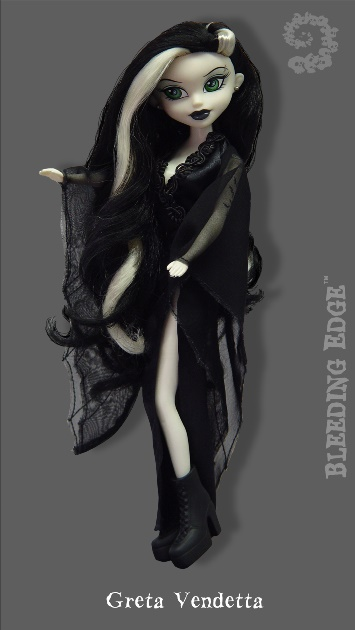 Bleeding Edge Series 8 Begoths 12 inch Greta Vendetta Figurine