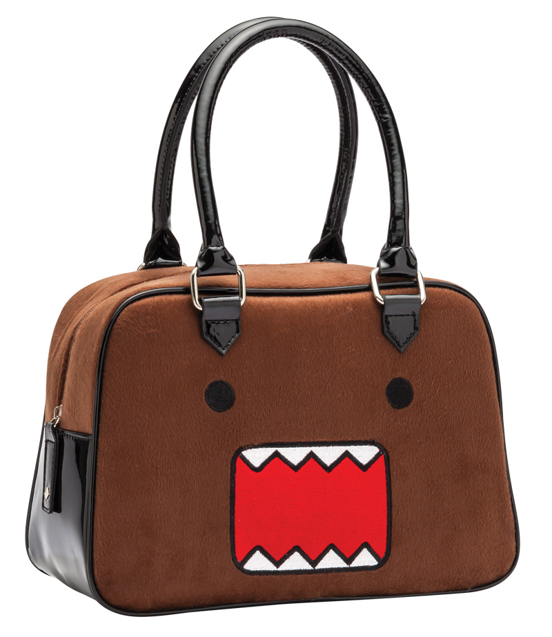 Rock Rebel Brown Domo Fur Purse Handbag