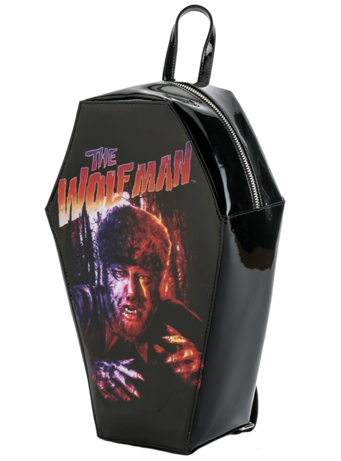 Universal Monsters The Wolfman PVC Coffin Backpack by Rock Rebel