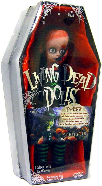 "Living Dead Dolls Series 18 Halloween""Ember"""