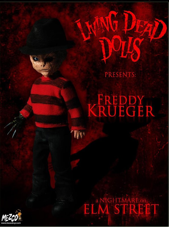 Living Dead Dolls Freddy Krueger: A Nightmare on Elm Street