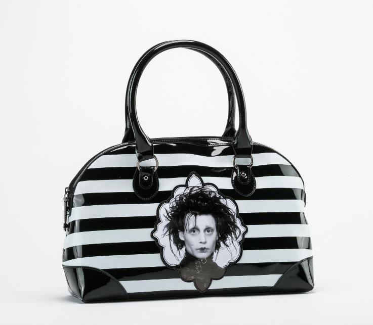 Rock Rebel Edward Scissorhands PVC Vegan Vinyl Handbag Purse