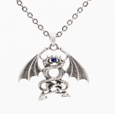 Dueling Dragon Necklace