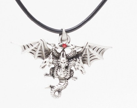 Double Dragons Necklace