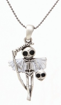 Reaperman Skelly Necklace