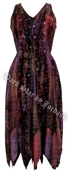Dark Star Dark Multi Dye Renaissance Dress