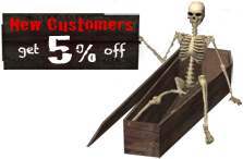 New customers get %5 off!