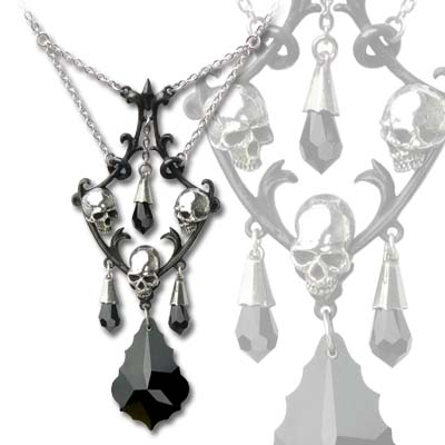Alchemy Gothic Carmilla's Chandelier Pendant Necklace