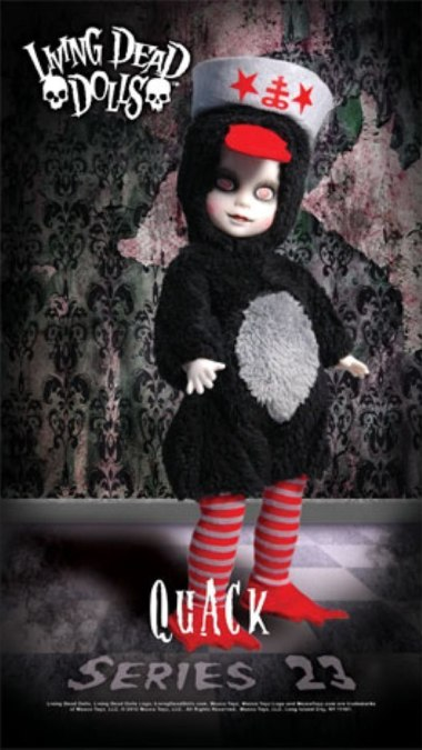 Living Dead Dolls Series 23 Quack