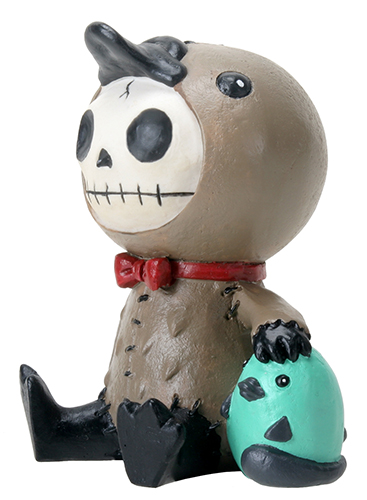 Platypus Bill Furry Bones Skellies Medium Figurine