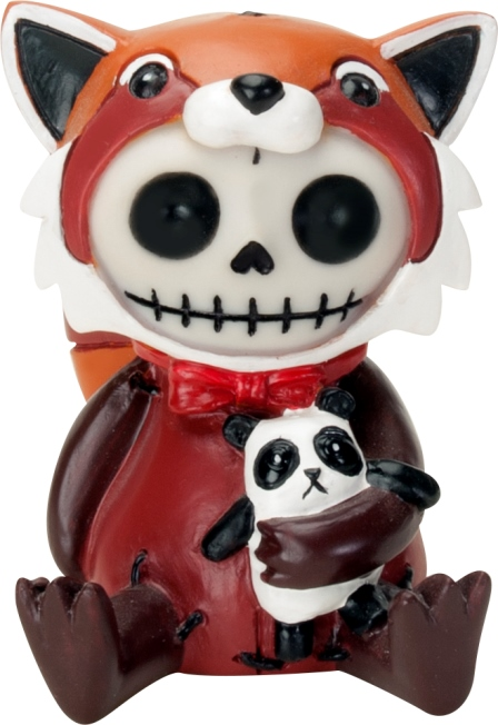 Reddington Fox Furry Bones Skellies Figurine